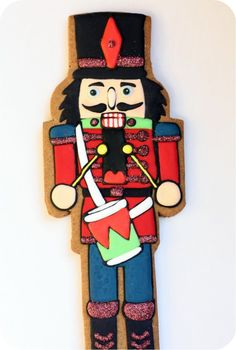 nutcracker cookie - AND - good tips for freezing cookies in the comments section of the blog post.