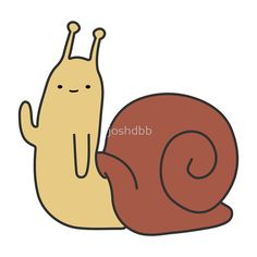 Adventure Time Snail - Small