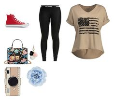 """""""Freedom happy for all"""" by ksoper2951 on Polyvore featuring Kate Spade, Monsoon, GUESS and Converse"""