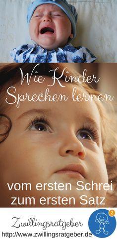Wie lernen Babys bzw. Kleinkinder sprechen? Welche Entwicklungen sind notwendig für die ersten Worte & Laute von Babys?