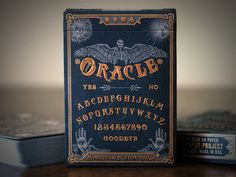 Oracle Mystifying Playing Cards - Ouija and spiritualism inspired | Dead On Paper