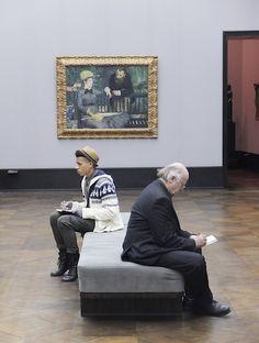 Alberto Bernasconi - photos of museum patrons
