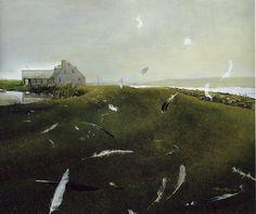 Andrew Wyeth        Airborne   1996