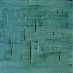 Conceipt Spatiale 1958 - Lucio Fontana - WikiPaintings.org