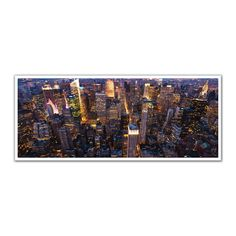 JP London PAN5156 uStrip New York City Lights Empire State High Resolution Peel and Stick Removable Wall   Lowe's Canada