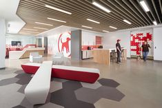 Lobby at Redtail Technology's offices in Sacramento, California