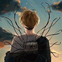 AgustD mixtape fanart. In my eyes he\'s the likable villain. Imperfect, yet perfect. Hard to love, hard to understand. Unpredictable. Real. Yet, I love and care about this guy who pushes everyone away. Who doesn\'t know me. From self-demeaning to self-respecting. Scared, now strong. He is strong. I\'ll say it again. He\'s become stronger. He\'s a stray animal I can\'t help but want to stay beside. Trust me.