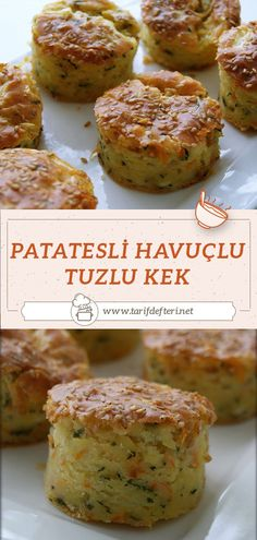 Turkish Recipes, Ethnic Recipes, Salmon Burgers, Baked Potato, Tea Time, Muffins, Food And Drink, Cooking Recipes, Meals