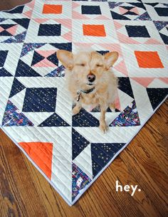 """Skill Level: Easy 100% originalpattern Downloadable PDF Includes instructions for a Throw size as well as a Baby Quilt The perfect quilt for the newbie quilter! Hate math? Included is a shortcut cheat sheet for making this quilt any size! Video tutorial on how to make 8 half square triangles at once! Finished Throw - 54"""" x 72"""" Finished Baby - 36"""" x 48"""" All SQ patterns assume yardage to be 42"""" wide and seam allowances to be a ¼"""""""