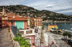 Villefranche Sur Mer, French Riviera, Coast, France, French, Seaside