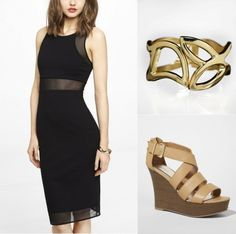 These office-appropriate shift and sheath dresses will take you from the cubicle to cocktails within seconds!