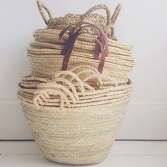 Panier French market baskets