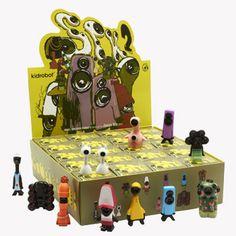 SPK2 vinyl figure mini series by Jason Siu for Kidrobot, blind box, 12 designs - $4