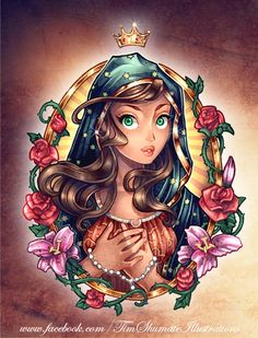 Disney Princess Pin Up