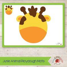 PlayDough Mats from busyLittle bugs.com
