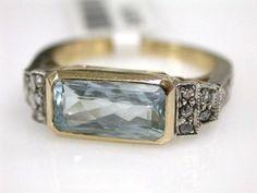 Vintage style aquamarine. Kinda like. Simple, elegant, detailed, pretty                                                                                                                                                                                 More