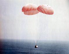 apollo 9 landing Apollo Nasa, Apollo 9, Space Hero, Nasa Missions, Major Tom, Space Rocket, Space Program, Astronauts, Physical Science