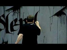 Niels Shoe Meulman presents Calligraffiti  i wanna be like him ;) it's amazing!!!!