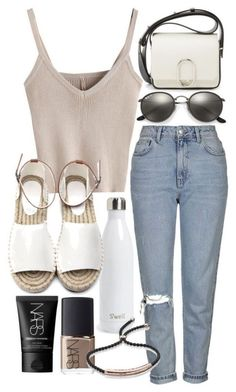 College outfits: Combine harvesters for a month Clara Villaman. Komplette Outfits, College Outfits, Cute Casual Outfits, Polyvore Outfits, Spring Outfits, Fashion Outfits, Womens Fashion, Fashion Trends, College Style