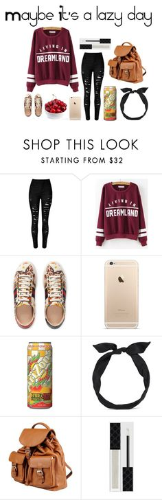 """""""Sin título #115"""" by orianahalabi09 ❤ liked on Polyvore featuring Gucci, MANGO, yunotme and Doucal's"""
