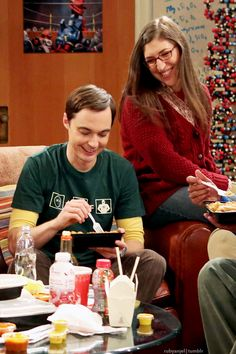 Jim Parsons and Mayim Bialik as Sheldon Amy from The Big Bang Theory Geek Culture, pop sugar tech, April 2015 Big Bang Theory, The Big Theory, Tbbt, Sheldon Amy, Amy Farrah Fowler, Duncan, Mayim Bialik, Jim Parsons, Tv Couples