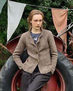 Ravelry: Cyrene Jacket pattern by Kari-Helene Rane