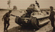 A French FCM-36 tank in German service