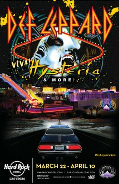 Def Leppard Taking VIVA Hysteria! to Las Vegas