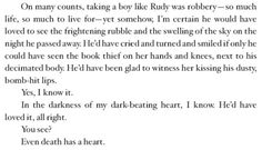 I REMEMBER READING THIS PAGE AND SOBBING FOR HOURS - (the book thief)