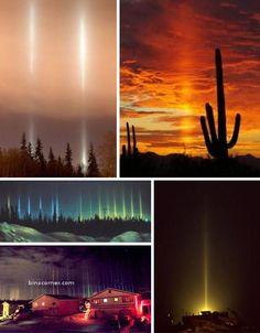 Strange Natural Phenomena - Light Pillars