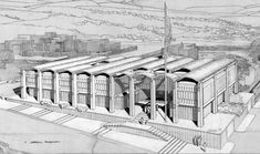 Paul Rudolph, Heritage Foundation, Concrete Blocks, School Architecture, Condominium, Biography, Sketch, Building, Sketch Drawing