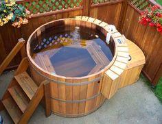 Diseño e Instalación de Tinas de Agua o Bañeras Ofurós y Spas de Madera