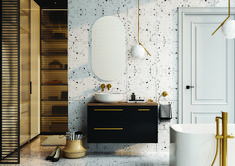 Kwadro Plus Collection na tablicy Bathroom Furniture. Meble Łazienkowe Vanity, Mirror, Bathroom, Furniture, Design, Home Decor, Products, Dressing Tables, Washroom