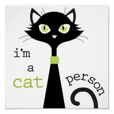 Je suis une personne à chat