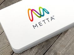 I just finished this visual identity for Metta. Metta makes smartware for self…