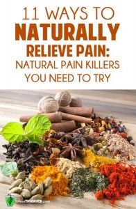 11 Ways to Naturally Relieve Pain: Natural Pain Killers You Need to Try