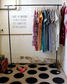 Chic Garment Racks That Provide Modern Clothing Storage