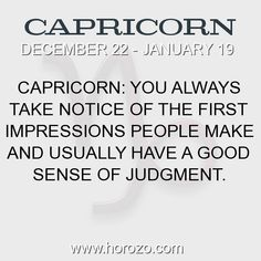 Fact about Capricorn: Capricorn: You always take notice of the first... #capricorn, #capricornfact, #zodiac. More info here: https://www.horozo.com/blog/capricorn-you-always-take-notice-of-the-first/ Astrology dating site: https://www.horozo.com