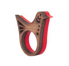 anel piu   zellig   coleção pássaros