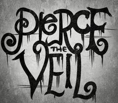 how to draw pierce the veil logo