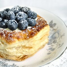 Lemon Blueberry Puff Pastry Tarts are the perfect summer time flavour combination!