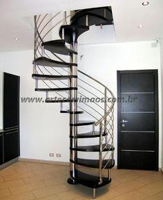 Escada Caracol Inox … Mais