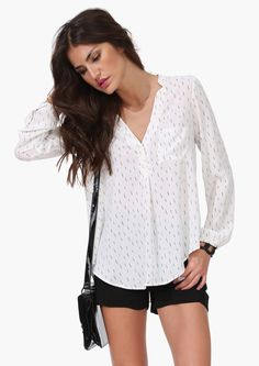 cool breeze summer shirt, clothing, long sleeve, airy, subtle pattern