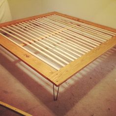 DIY Case Study Bed