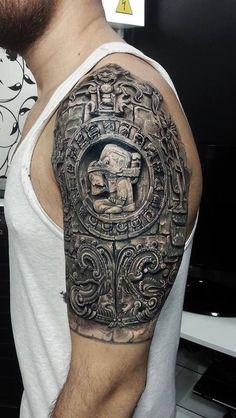 Excelente tatoo, podría aparentar un grabado....