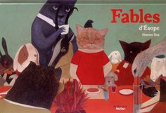 "Simone Rea, ""Fables"", published in France by Actes Sud, originally published in Italy by Topipittori under the title ""Favole"""
