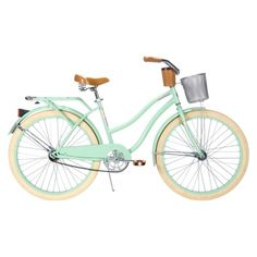 "HUFFY Mint Green Huffy 26"" Ladies Deluxe Cruiser."