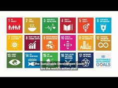 What are the United Nations' 17 Sustainable Development Goals? Educacion No Formal, Organisation Des Nations Unies, Un Sustainable Development Goals, Poverty And Hunger, Innovation, Financial Inclusion, Bank Financial, Water And Sanitation, Sustainable City