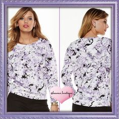 HP 2X5⭐️Juicy Couture Abstract Prnt Sweatshrt HP 2X5⭐️ Rated! Capture some attention in this NWT Juicy Couture sweatshirt! Bold print and scuba construction combine to give you a fashionable look and feel. Features: Scoopneck, Long sleeves, Polyester/spandex, Machine wash. S (4-6)L (12-14) Please Don't Buy ListingTag Me & I'll Create Your Listing ✅Bundle Discounts✅Reasonable Offers✅Smoke-Free✅❌Trades❌ Juicy Couture Tops Sweatshirts & Hoodies