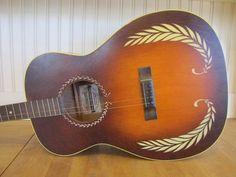1930's Supertone Tenor Guitar, Harmony Guitar for Sears and ...